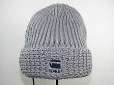 G-STAR Mütze BUCKLEY BEANIE 89437.4430.203 grau grey Wintermütze RAW +NEU+