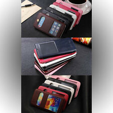 Leather Flip Cover for Samsung Galaxy Note 4/Galaxy S5/Apple iPhone 6/6 Plus