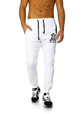 Akito Tanaka Herren Baggy Freizeit Trainingshose Sweatpants Jogginghose 18248