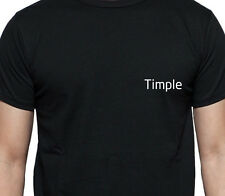 TIMPLE PERSONALISED POCKET LOGO T SHIRT MUSCIAL INSTRUMENT