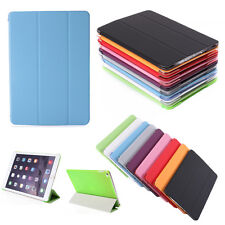 Magnetic PU Leather Smart Stand Flip Cover Back Case For Apple iPad Air 2 iPad 6