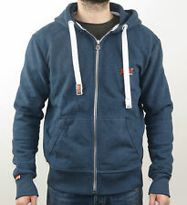 SuperDry Kapuzenpullover Men ORANGE LABEL ZIPHOOD MS2IX136 GBW BLUE - blau+NEU+