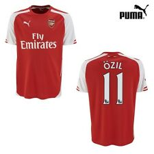 Puma FC Arsenal London Özil 11 Home Heimtrikot 2014/2015 rot/weiß [746446]