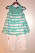 BNWT Girls Gorgeous Leggings and Tunic Dress Set Age 2-3 Years *FREE P&P*