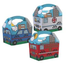 Emergency Services Team - Childrens Birthday Party Meal Lunch Food Gift Box