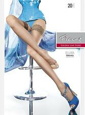 """SHEER OPEN TOE HOLD UPS by Fiore """"ELUXA"""" ***FREE SHIPPING UK***"""