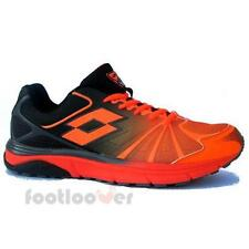 Scarpe Lotto Moonrun R5908 Uomo Sneakers Fashion Running Orange Black IT Comfort