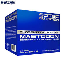 MASTODON 90/180 CAPS. PHOSPHATIDIC ACID Activates Muscle Growth & Burning Of Fat