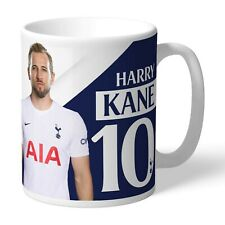 Personalised HARRY KANE Message Autograph Mug Tottenham Hotspur Spurs Fan Gift