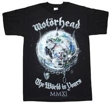 Motorhead - The World is yours - Official Ex tour merchandise - Mens / Unisex