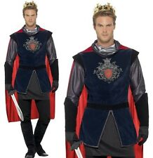 Mens King Arthur Fancy Dress Costume Historical Knight Outfit M-XL New Smiffys