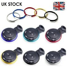 Key Ring Metal Fob Trim Surround For BMW Mini JCW ONE COOPER S Works New Quality