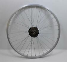 "26 "" Alloy REAR Mountain Bike Wheel & 6 SPEED SHIMANO FREEWHEEL Bicycle MTB (R)"