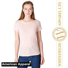 American Apparel - Women's fine jersey short sleeve T T-shirt AA003