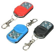 4 Button Electric Garage Gate Remote Control Key Fob 433MHz Cloning Universal