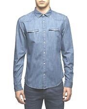 Jack & Jones Hemd Ross Denim Shirt 12075973 hellblau
