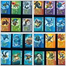 CARTE SKYLANDERS SPYRO'S ADVENTURE STAT CARD / STICKERS CARD