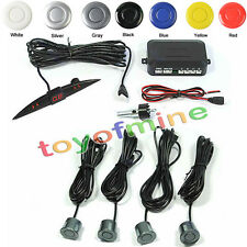 Car Kit 4 Aparcamiento Sistema de copia de seguridad Sensores Radar LED