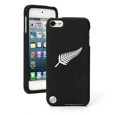 For Apple iPod Touch 4th 5th 6th Rubber Hard Case Cover New Zealand Silver Fern