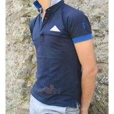 Polo 136 Bradano 97% Cotone Fashion Uomo Navy Blu Made In Italy Moda Casual IT