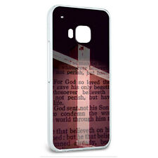 Snap On Protective Slim Hard Case for HTC One M9 Religious Designs