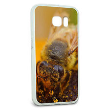 Protective Slim Hybrid Rubber Bumper Case for Galaxy S6 Bee Bumblebee