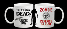 Personalised Walking Dead Dad Brother Son Uncle Sister Zombie Teacher Mug Gift
