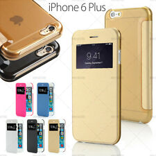 ETUI COQUE HOUSSE FLIP COVER VIEW IPHONE 6 PLUS (5,5) + FILM OFFERT