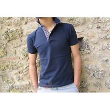 Polo 327 Bradano 97% Cotone Fashion Uomo Navy Made In Italy Moda Casual IT
