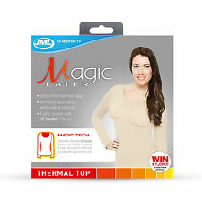 JML Magic Layer: Women's Soft, Breatheable & Fast-Drying Thermal Vest