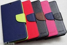 MERCURY WALLET STYLE FLIP DIARY CASE COVER FOR MICROMAX CANVAS 2 COLOURS A120