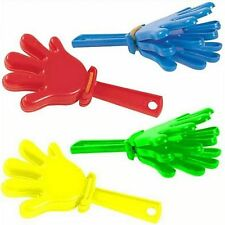 Mini Hand Clappers Party bag filler toys Available in assorted colours
