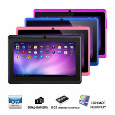 "7"" Zoll Quad Core Dual Kamera 8GB Android 4.4 Touchscreen WIFI Tablet PC"