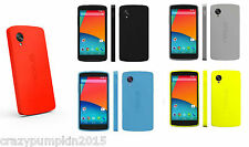 [Official] Soft Rubber Bumper TPU Back Case Cover Shell For LG Google Nexus 5