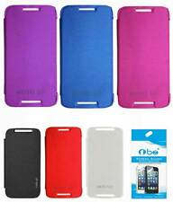 TBZ Flip Cover Case for Motorola Moto G 3rd Generation with Screen/DataCable opt