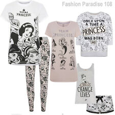 Ladies Disney Total Princess Leggings T Shirt Shortset Primark Size UK 6-20 BNWT