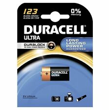 DURACELL CR2 Ultra Lithium Photo Camera Batteries DL/ ELCR2 - 1 2 4 5 8 10