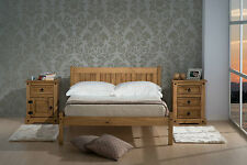 NEXT DAY DELIVERY! Waxed Pine Wooden Bedframe 3FT 4FT 4FT6 Single Double Bed