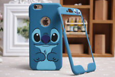 Disney Lilo & Stitch Apple iPhone & Samsung Front & Back Plate Case Cover