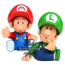 SUPER MARIO BROS. BABY ACTION FIGURE STATUETTA LUIGI MINI JR. bb collection pvc