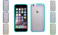 """Crystal Clear TPU Bumper Gel Grip Hard Back Case Cover For Apple iPhone 6 4.7"""""""
