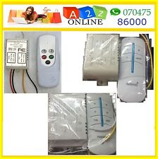 1/3/4 Way AC 220V Remote Control Switch ON/OFF Lamps/Fan or Any Other Load