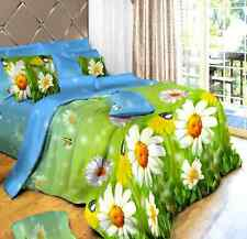 NEW Single Double Queen King Sizes Bed Set Quilt Duvet Cover Pillow Cases Home