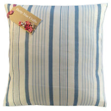 Designer Clarke and Clarke Sable Duck Egg Blue fabric Cushion Cover