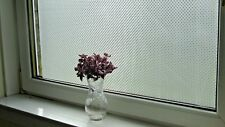 Stained Glass Effect Frosted Static Window Film Decorative Vinyl Privacy Paper