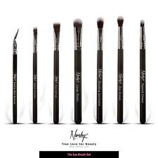 Nanshy Eye Brushes- Eyeliner Flat Definer Angled Detailer Crease Blending Shader