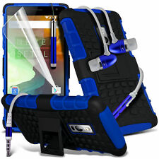 Shockproof Dual Layer Heavy Duty Case & Handsfree For One Plus 2