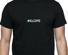 PERSONALISED #SLOPE SLOPE T SHIRT HASHTAG WORK SHIRT GIFT
