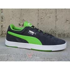 Scarpe Puma Suede S 356414 10 uomo sneakers casual moda Dark Grey Green IT