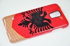 3D Samsung Galaxy Albania Bandiera 3 Custodia Cellulare Flip Custodia Case Cover